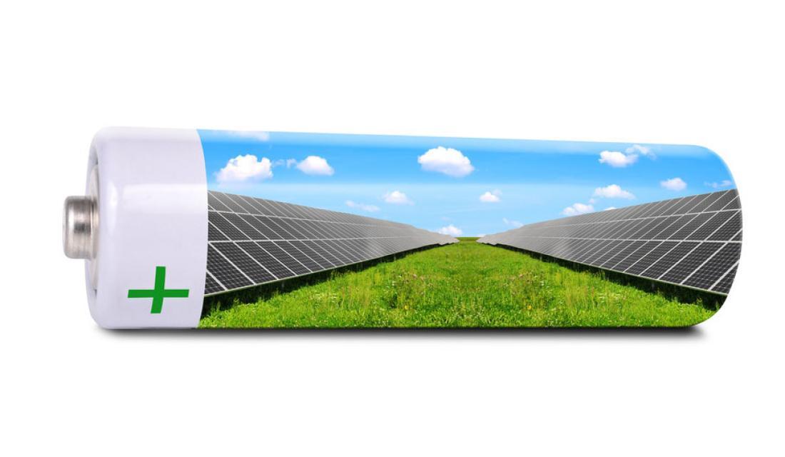 Batterie Mit Solarmodulen